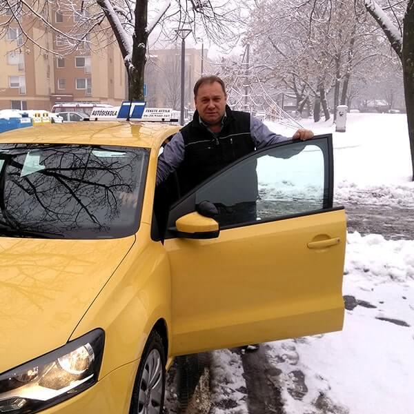 Fekete AttilaÁchim autósiskola oktató